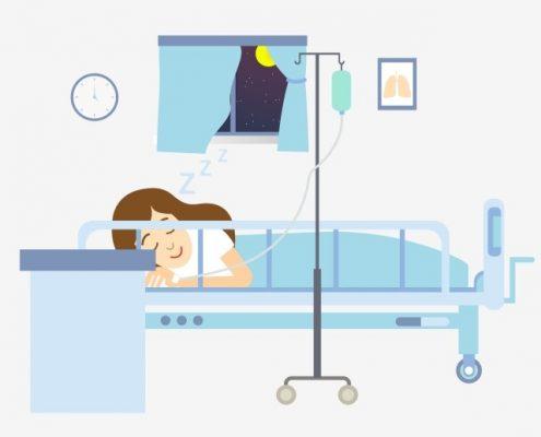 چه مدتی بیمار پس از عمل بای پس معده باید در بیمارستان بستری شود؟