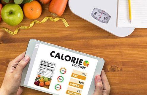 مرحله ی اول: مصرف کالری های خود را بازبینی کنید: