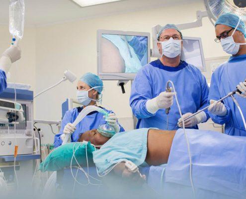 عمل جراحی بای پس معده به روش بلیوپانکراتیک چگونه انجام می شود؟