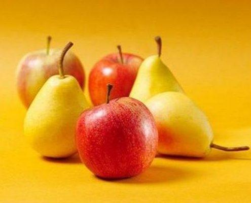 گلابی و سیب :