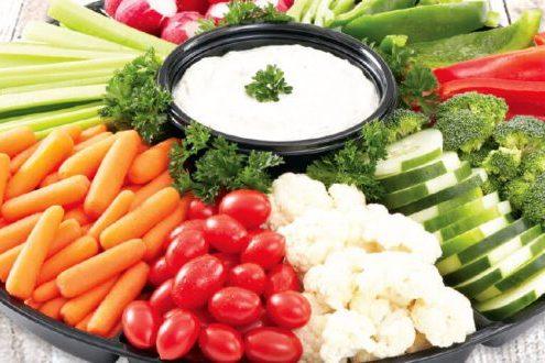 میوه و سبزیجات :