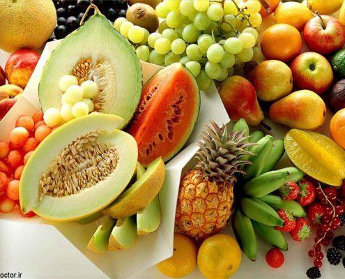 میوه هایی که فیبر بیشتر دارند