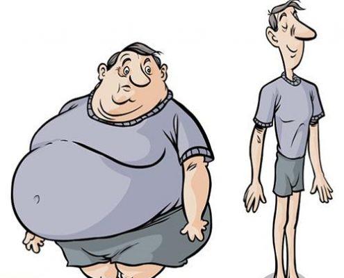چاقی ناشی از بی تحرکی: