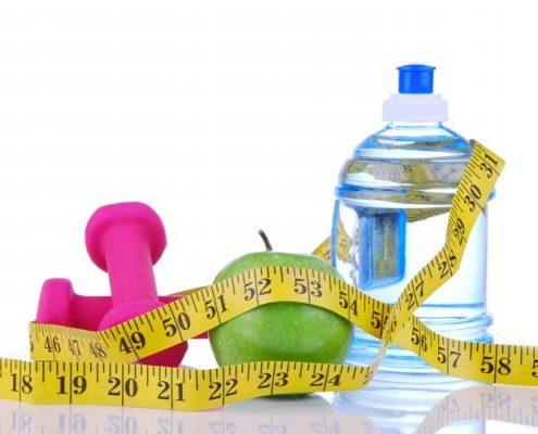 ورزش و رعایت رژیم غذایی :