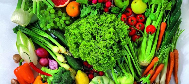 سبزیجات مناسب