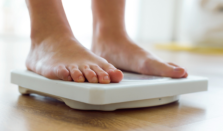کم شدن وزن