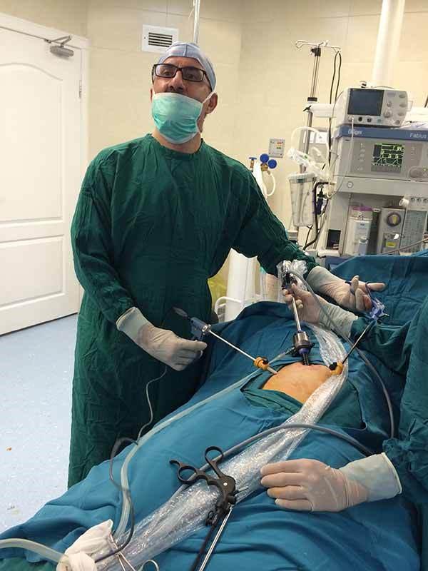 جراحی شیوه باز و شیوه لاپاراسکوپی