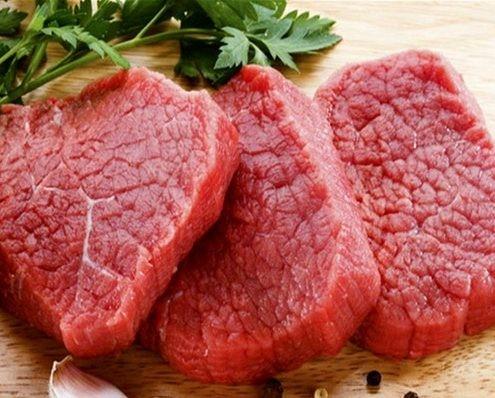 گوشت قرمز: