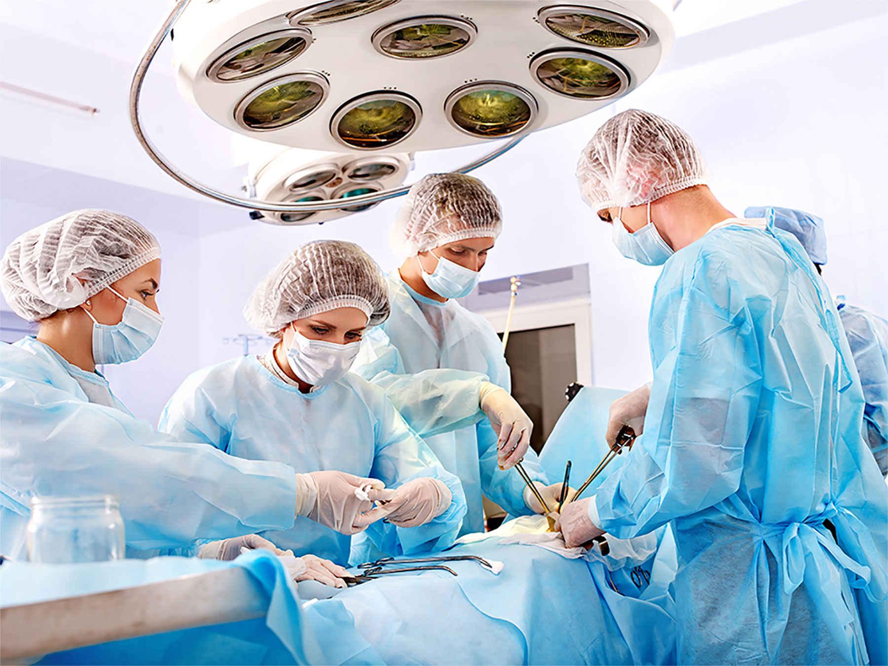 ازجمله روش های جراحی عبارتاند از: