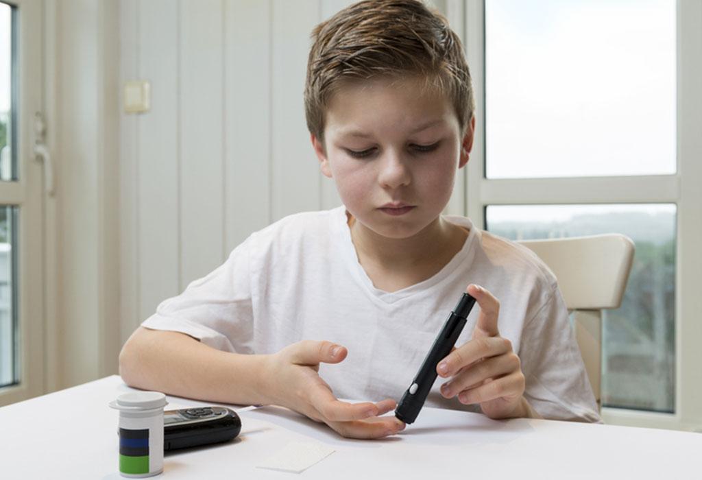 چرا دیابت در کودکان به وجود می آید؟