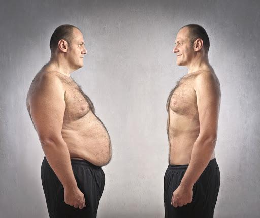 کاهش وزن زیاد