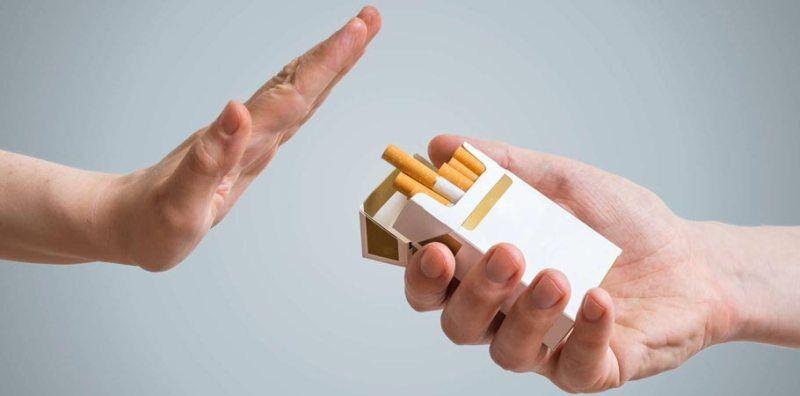استفاده نکردن از سیگار