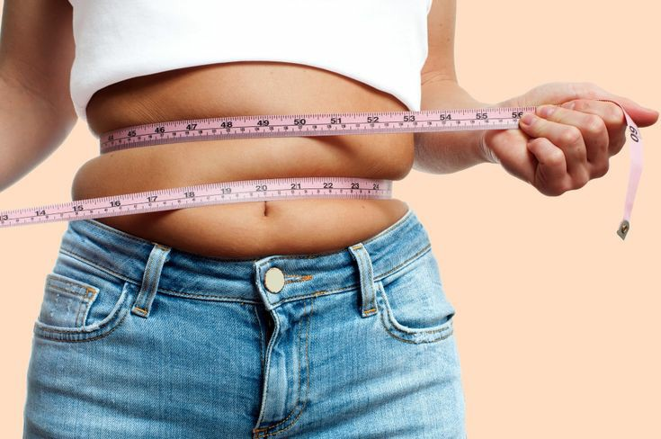 انواع چاقی و اضافه وزن