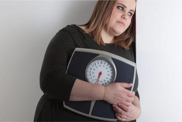 اضافه وزن بر اثر افسردگی