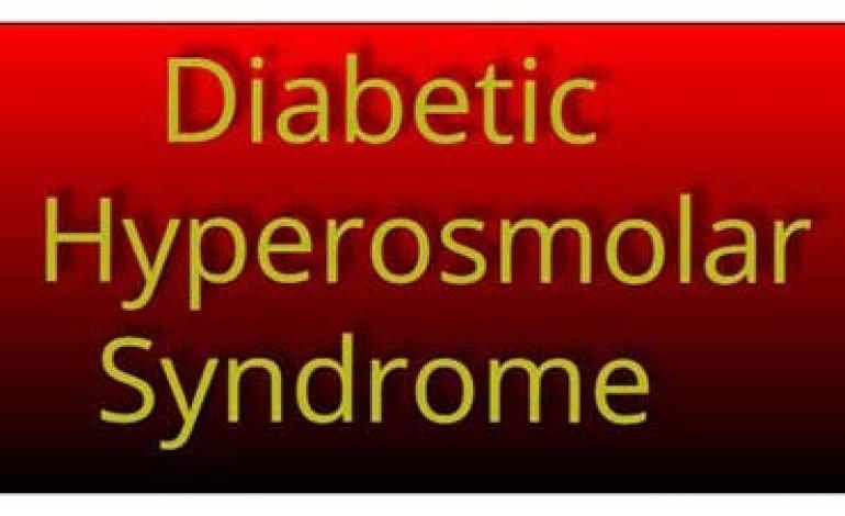 آیا در زمینه ی عارضه ای با عنوانسندرم هایپراسمولار دیابتی اطلاعاتی دارید؟