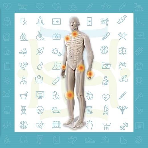 مثلا می توانند بر روی سیستم های ذیل از بدن افراد مختلف اثر گذار باشند: