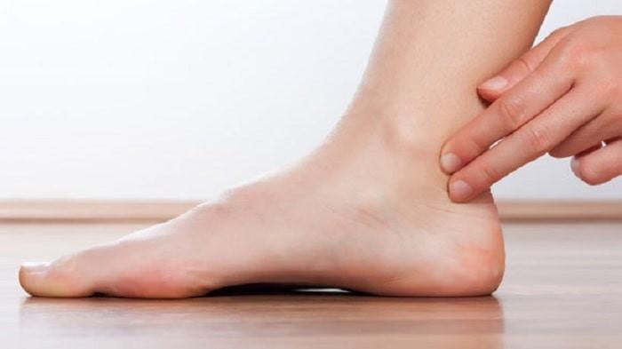 تغییرات ظاهری پا: